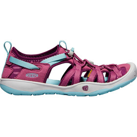 Keen Moxie Sandal Sandals Youth Red Violet/Pastel Turquoise